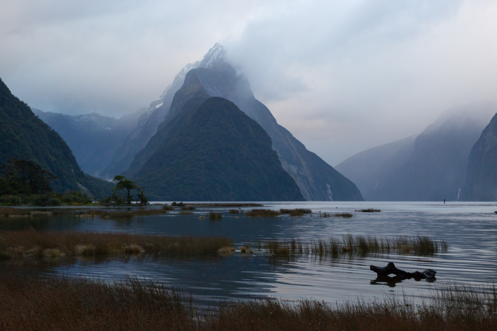 Dawn on Mitre Peak, Milford Sound