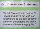 Year 3 Mission Statement