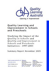 Quality Learning and Improvement in Schools and Preschools