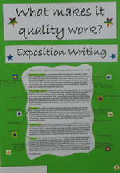 Quality Criteria: Exposition Writing (Year 6)