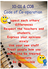 Year 10 Code of Cooperation