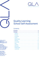 Quality Learning School Self-Assessment