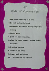 Year 6 Code of Cooperation